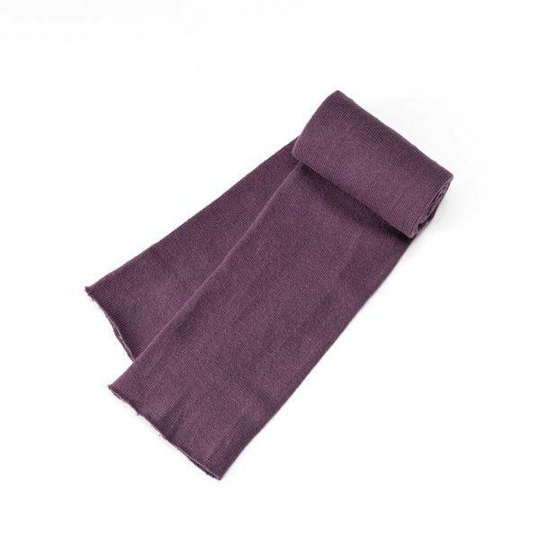 ふんわりあたたかW213 古代紫